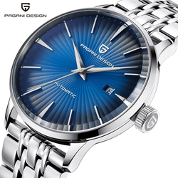 PAGANI DESIGN Men Watch Business Casual Mechanical Watches Waterproof Stainless Steel Brand Luxury Relogio Automatic Watch saat