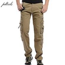 ФОТО 49hot fashion regular cargo pants men cotton casual slim multi-pocket mens tactical pants size:28-40
