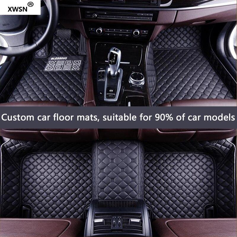 Personnalisé de voiture tapis de sol pour tesla model s Modèle X car styling accessoires auto tapis de sol pour les voitures