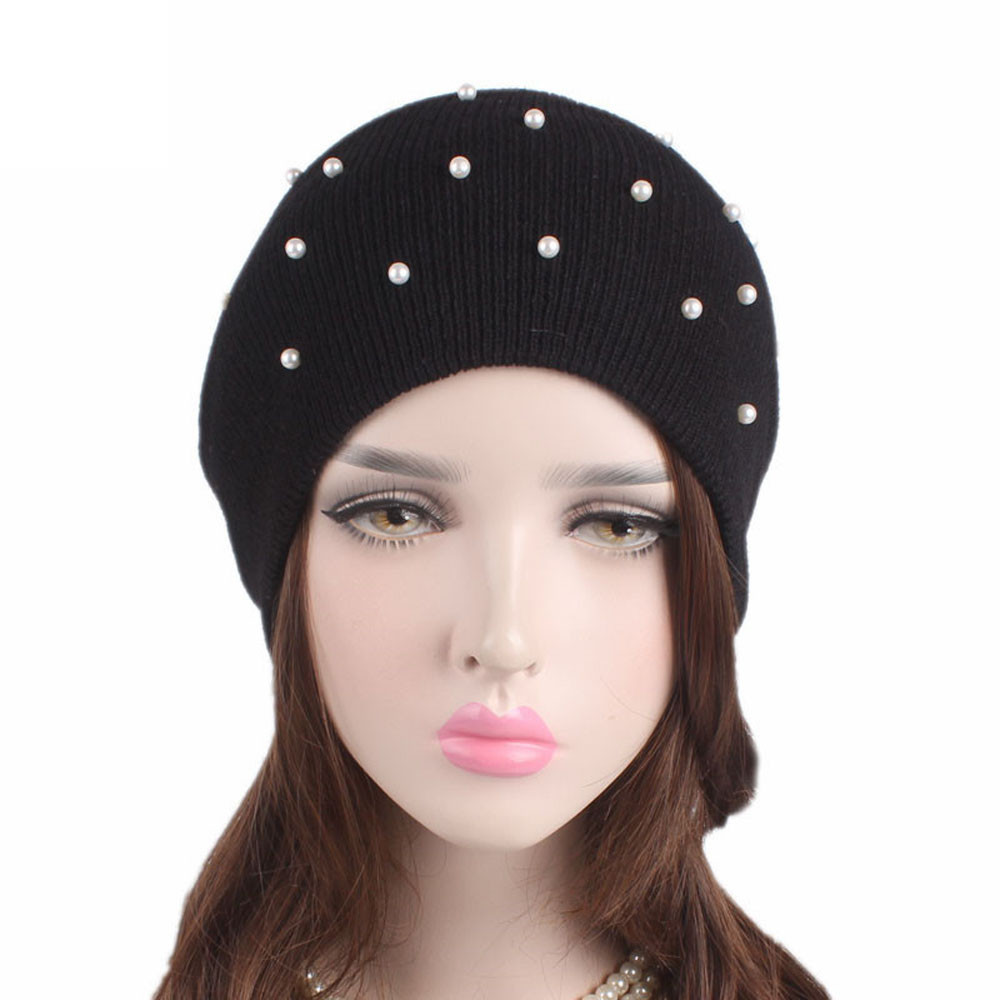 #4 2018 NEW Arrival HOT Fashion DROPSHIP Women Ladies Winter Knitting Hat Warm Pile Ski Cap Freeship