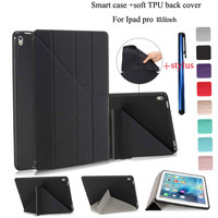 Ultra Thin Stand Design PU Leather Case For Apple Ipad Pro 10 5inch Table Cover Colorful
