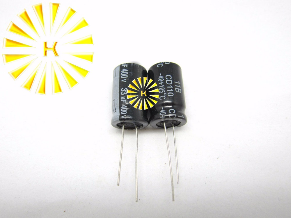 82uF 400V 18X27 50 PCS Aluminum Electrolytic Capacitors