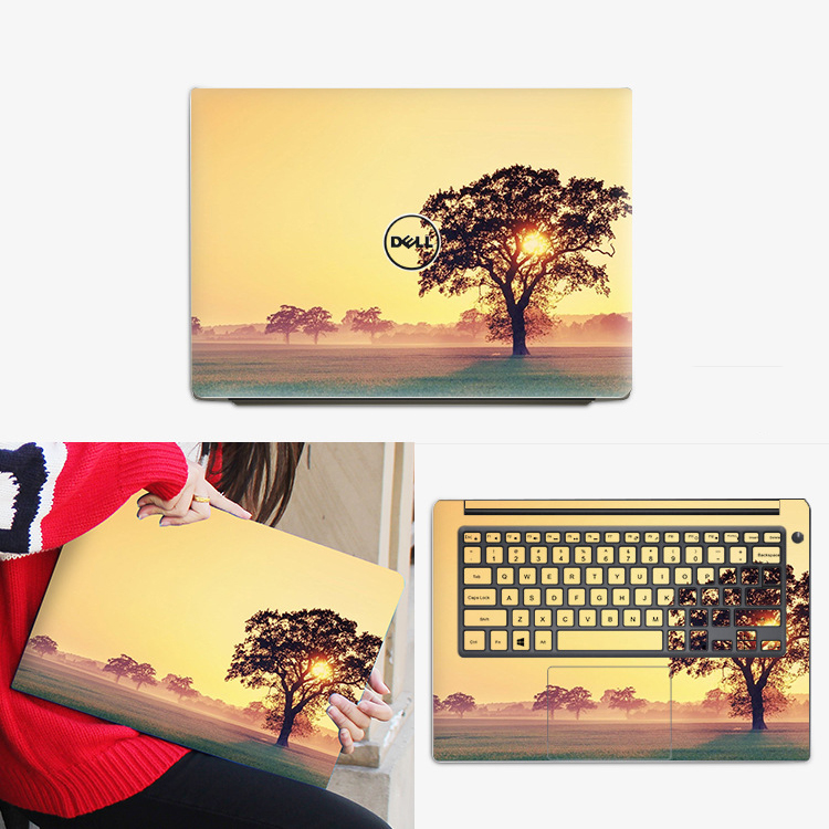 Laptop Sticker For Dell Inspiron 13-5368 13 7000 7347 7353 7370 7373 7386 13.3 inch Laptop Skin Protector Notebook Stickers