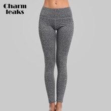 Charmleaks Women Yoga Pants Women Slim High Waist Sports Pants Sport Wear Fitness Gym Legging Pants Running Tights Yoga Pants