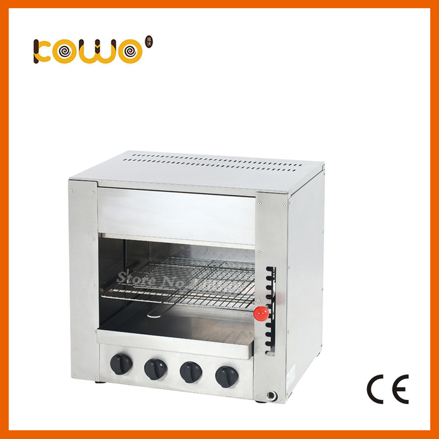 Kitchen Salamander Faucet Wall Mount Ce Stainless Steel Infrared Gas Toaster 4 Burner Grill Machine Oven Food