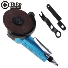TORO TR-6040 Mini High-speed 4 Inch Powerful Blue Pneumatic Polisher Air Angle Grinder for Machine Polished /Grinding /Cutting