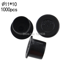 11mm TATTOO INK CUPS Black Caps 1000pcs Plastic Tattoo Ink Pigment Cup Supplies Self-standing Small Ink Cups Free Shipping