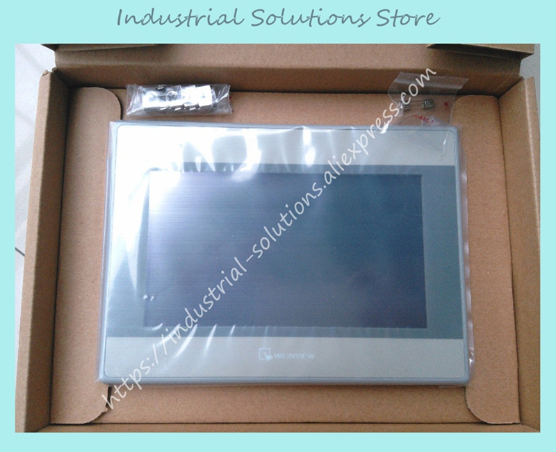 New Original MT8071IE Weinview HMI Touch Screen 7 inch 800*480 Ethernet 1 USB Host new original mt8071ie weinview hmi touch screen 7 inch 800 480 ethernet 1 usb host