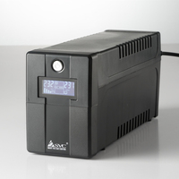 UPS Uninterruptible power supply / Uninterrupted Power Supply / Endurance ability 30 minutes / Voltage regulation 1100VA 600W