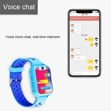 Дети умные часы Сенсорный фунтов sos-вызов локатора анти потерянный монитор для безопасности наручные GDeals