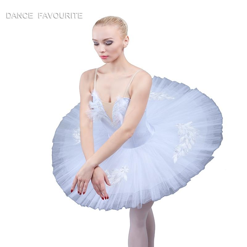 7 layer stiff tulle tutu spandex bodice top women ballet tutu costume Swan Lake Tutu Ballerina dance costume tutu
