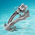 Forma pulseira masculina pulseira de prata Thai dragão de prata esterlina bangle925 áspero dominador personalidade retro moda pulseiras