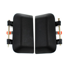 LARBLL New Pair Rear Left Right  Door Exterior Handle Black for Jeep Compass 2007-2016 5115826AF 5115826AE 5115826AD