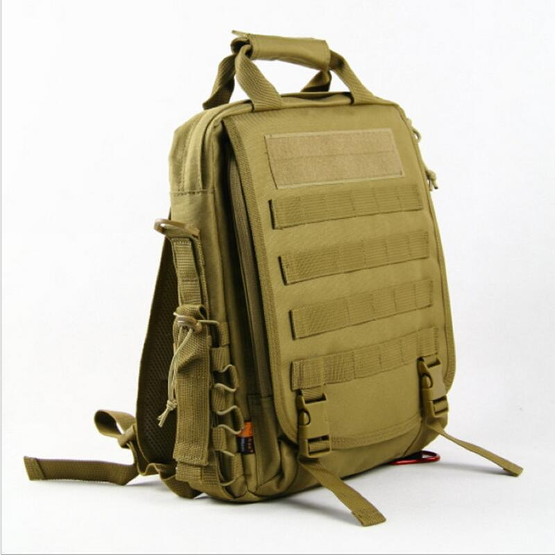 Laptop bag tactical military camouflage backpack outdoor waterproof shoulder diagonal small bag bicycle backpack