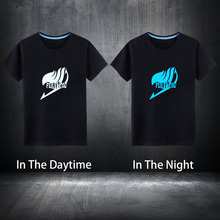 Fairy Tail Glowing T-Shirt 100% Cotton