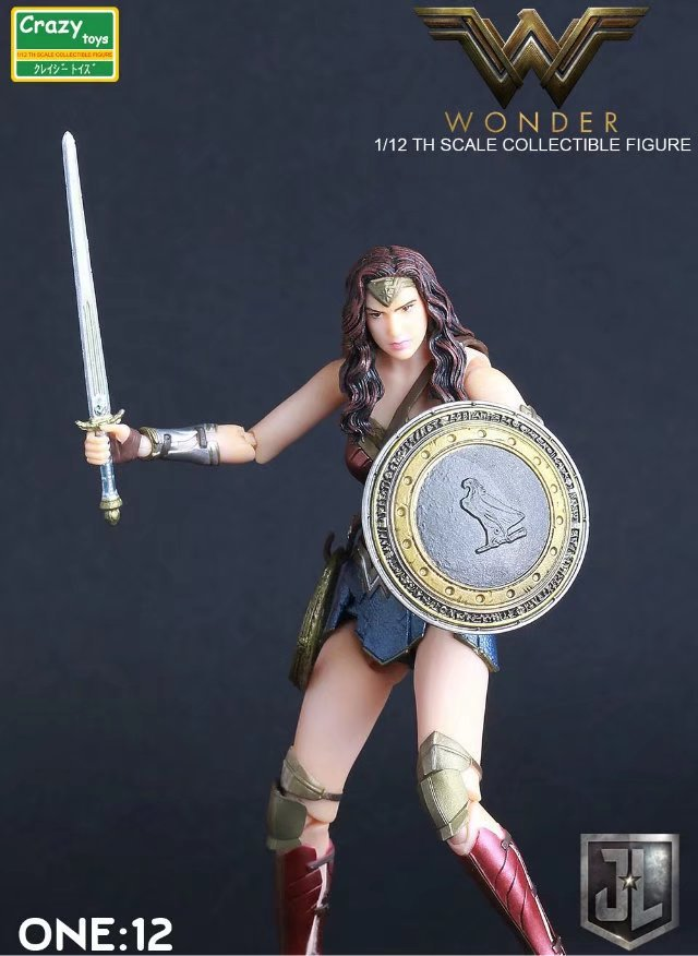 2fcd7355647 15cm Wonder Woman action figure Toy 6 inch Joint movement CRAZY TOYS ...