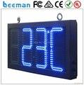 """10 """" 10 дюймов 4 цифры 88 : 88 зеленый цвет на открытом воздухе из светодиодов время показатель температуры, 7 сегментный цифровой из светодиодов часы знак"""