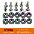 JDM Fender Washers NEO Chrome (10 Pack) washers and bolt Aluminum for Honda Integra RSX EK EG DC