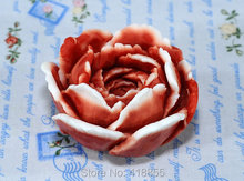 New arrival flower Soap mold rose silicone candle mould for cake decorations