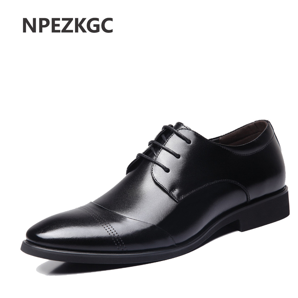NPEZKGC Hot Sale New oxford shoes for men Fashion Men Leather Shoes Spring Autumn Men Casual Flat Patent Leather men shoes 2016 new men s leather shoes men spring autumn men s oxford shoes flats hot sale tide brand men shoes
