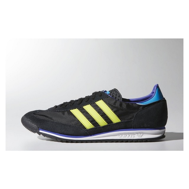 sports shoes 6d365 c911d Black sneakers B40245 SL72 adidas original MAN
