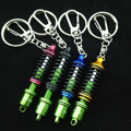 2016 New Sale Car Turbine Damper Coilover Keychain Auto Accessories Pendant Keyholder Free Shipping