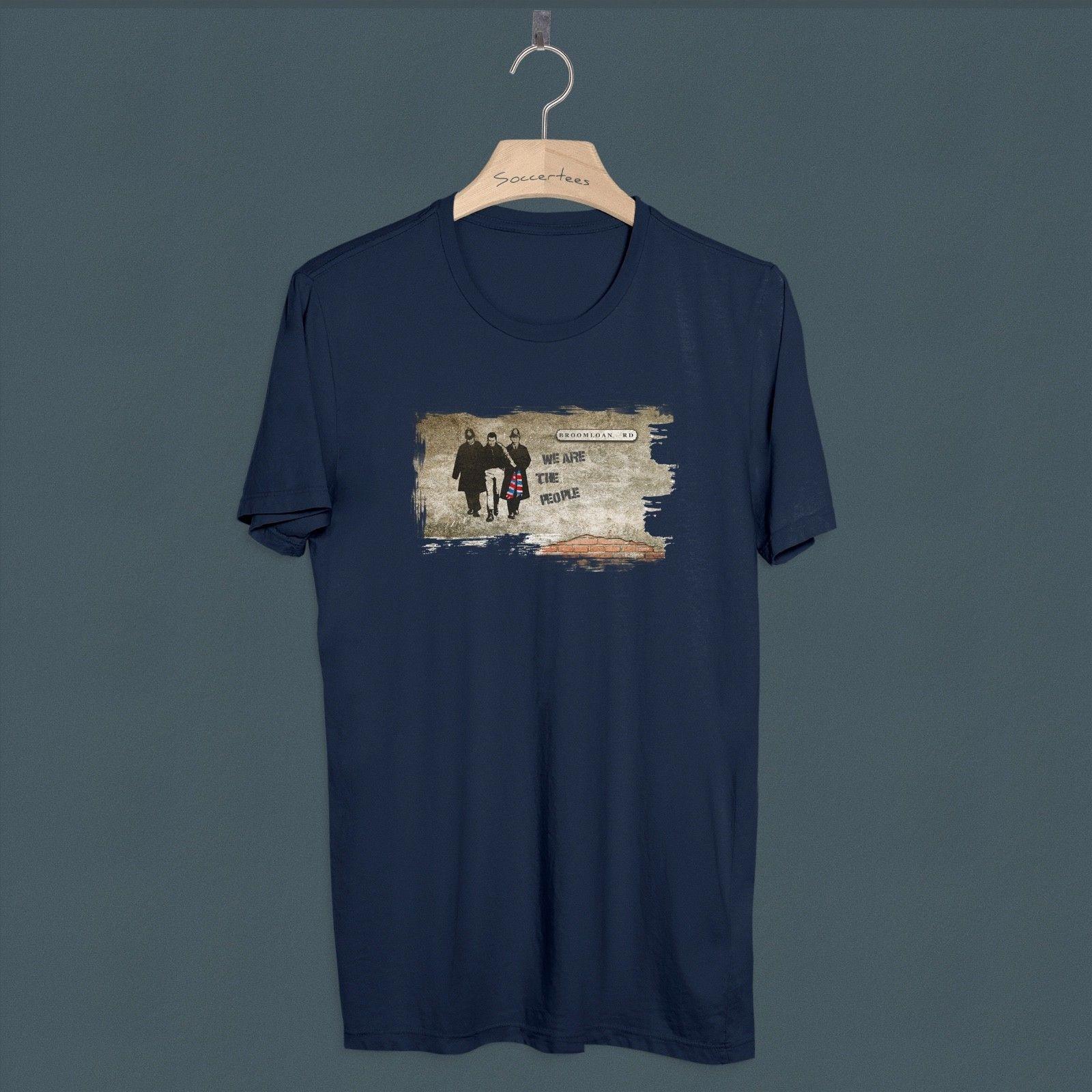 T Shirt Rangers Football Casuals Top Kit RFC Awaydays 80s Ultras Hooligan Away
