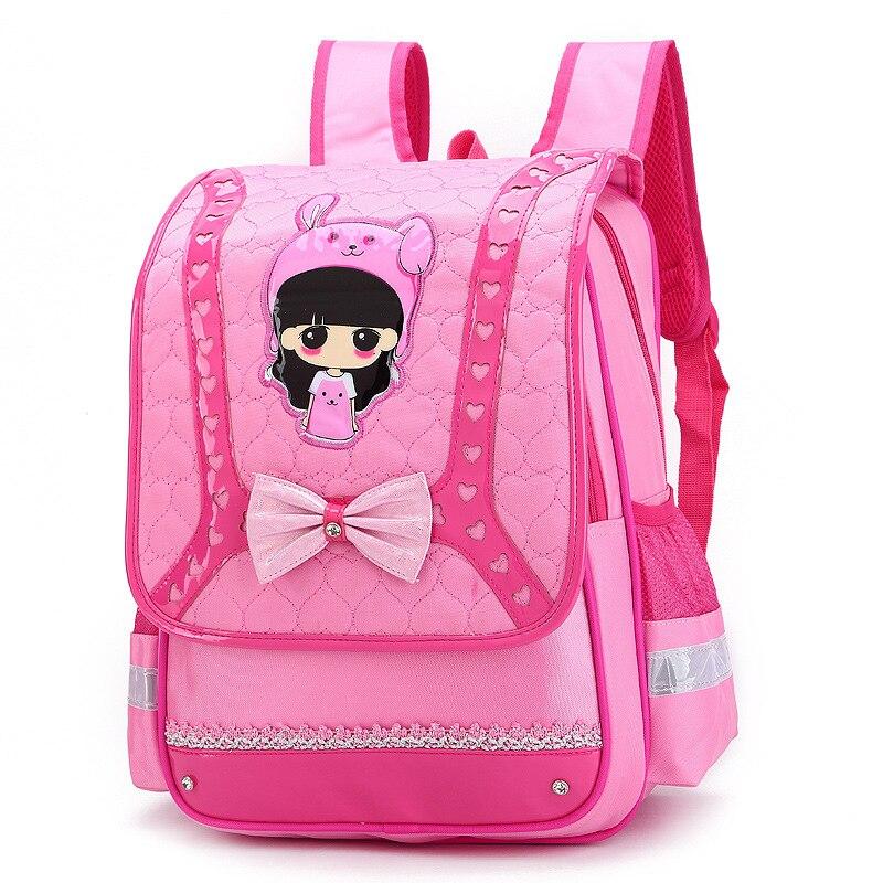 YK вебе-leik Детские рюкзаки дети мультфильм школьные сумки для девочек аниме Школьный Рюкзак Ортопедические ранцы mochila escolar
