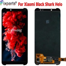 6.01NEW Display For Xiaomi BlackShark Helo LCD Display Touch Screen Digitizer Assembly Replace Parts Xiaomi Black Shark2 LCD new for lg g pad 10 1 v700 vk700 lcd display digitizer touch screen glass assembly black repairment parts
