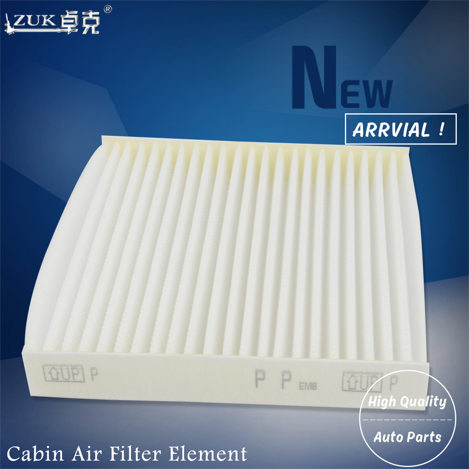 ZUK 10PCS Lot Cabin Air Filter 87139 52020 For Toyota YARIS COROLLA HIGHLANDER RAV4 HILUX CAMRY