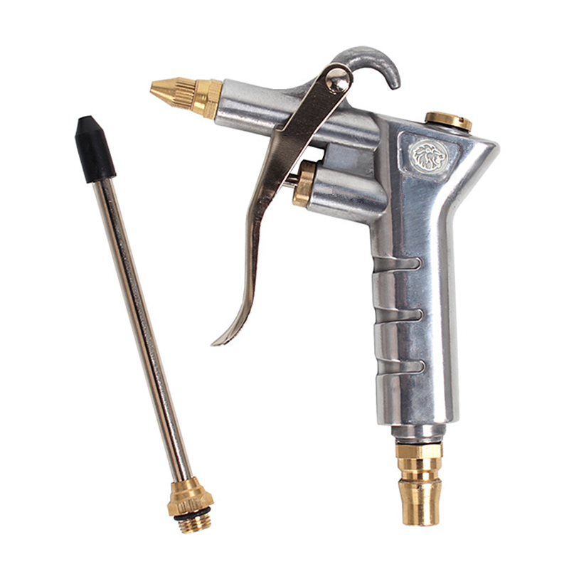 Airbrush Air Blow Dust Gun Pneumatic Cleaning Gun High Pressure Cleaner With Extension Rod Spray Paint Gun Duster Cleaning Tools free shipping air duster air tools dust gun blow cleaning clean handy tool with 6m connector tube