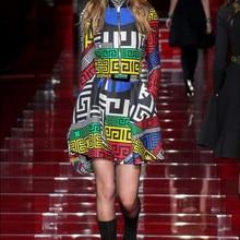 New Style Fashion Show Elegant Cartoon Mini Dress Full Sexy