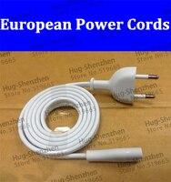 1 adet 1.8 m avrupa 2-prong noktası ac güç kablosu kablosu apple tv için router için ps2 ps3 slim güç kablo
