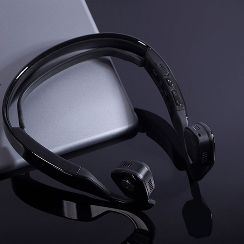font b Hot b font sale Sport Bluetooth Headset Noise Cancelling Wireless Music Bone Conduction