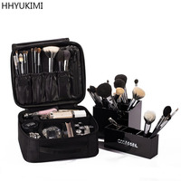Brand Designers High Quality Travel Waterproof Women Make Up Bag Professional Storage Beautician Brush Organizer Cosmetic