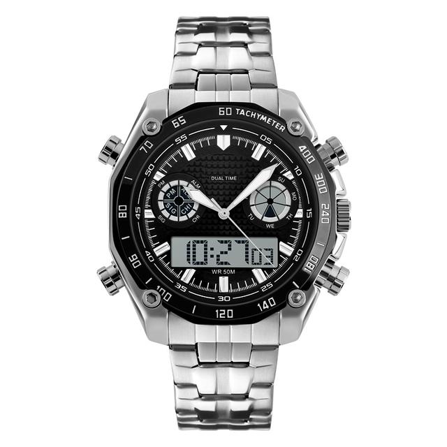 Led Relogio Digital Deportes de Moda Reloj Automático reloj resistente al agua Reloj de Moda Los Hombres de calidad superior del reloj del ejército militar reloj de pulsera
