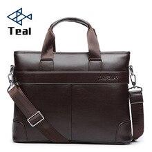 Мужская деловая черная Повседневная сумка, кожзам, портфель, мужская сумка, коричневая, высокое качество, мужская деловая сумка, большая ВМЕСТИТЕЛЬНОСТЬ
