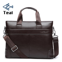 2020 Mens Business Black Casual Bag pu leather Briefcase mens Tote bags Brown High quality male Business large capacity