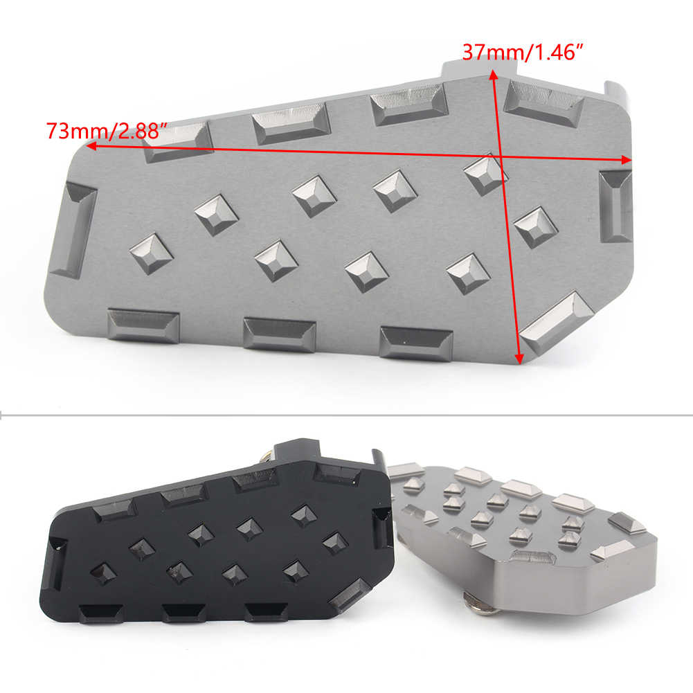 Bruce /& Shark Estensione per pedale cambio tallone//punta Ingrandisci pad adatto per B-M-W G310 Gs//R R1200Gs Adv Blk