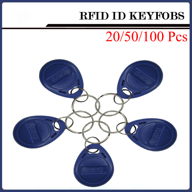20/50/100 Pcs RFID Card 125kHz RFID Key Id Card NFC Tags Door Entry Card For Access Control System Timeclock 125khz rfid proximity id card thin card rfid tags id cards door control entry access em card