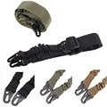 New Adjustable Military Heavy Nylon Duty Gun Belt Strap Tactical two Points Sling Outdoor Airsoft Mount Bungee Rifle Sling