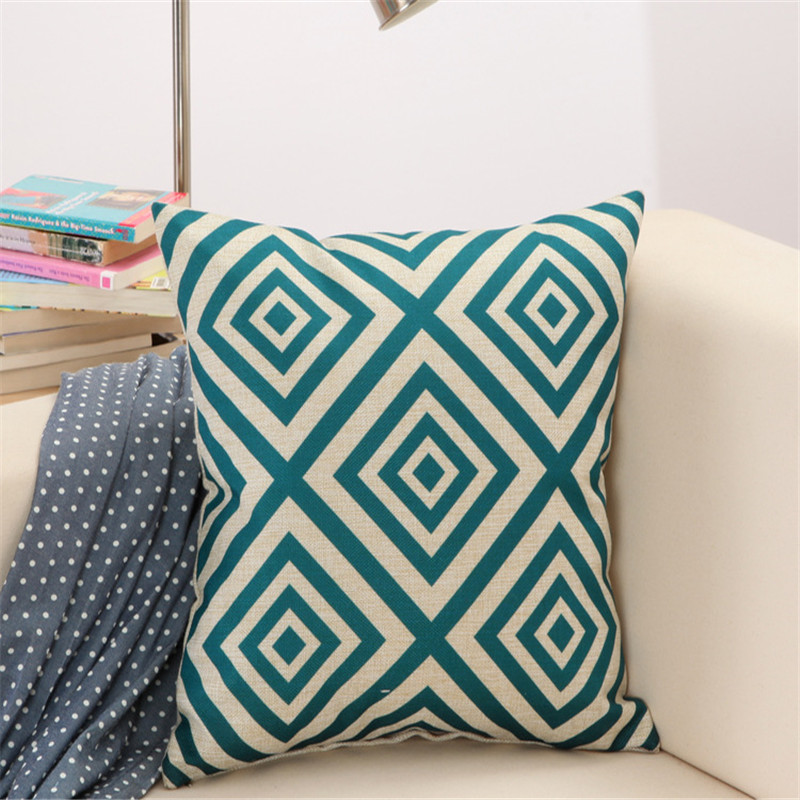 Home Pillow Leaf Floral Throw Pillow Cover Home Decorate Cushion Case Decorative Pillowcase Suitable For Bed Office 45x45cm