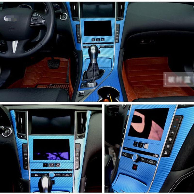 Yeni dizaynlı avtomobil salonu daxili dizayn konsolu Infiniti Q50 / - Avtomobil daxili aksesuarları - Fotoqrafiya 4