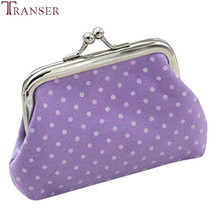 Transer Women Ladies Retro Plånbok Myntväska Kreditkort Hållare Fashion Party Clutch Girl Handväskan Bag Hasp Women Purse A13