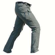 IX7 Military Tactical Cargo Pants Männer Kampfstiefel SWAT Armee Military Hosen sommer dünne Baumwolle Taschen Paintball Freizeithose
