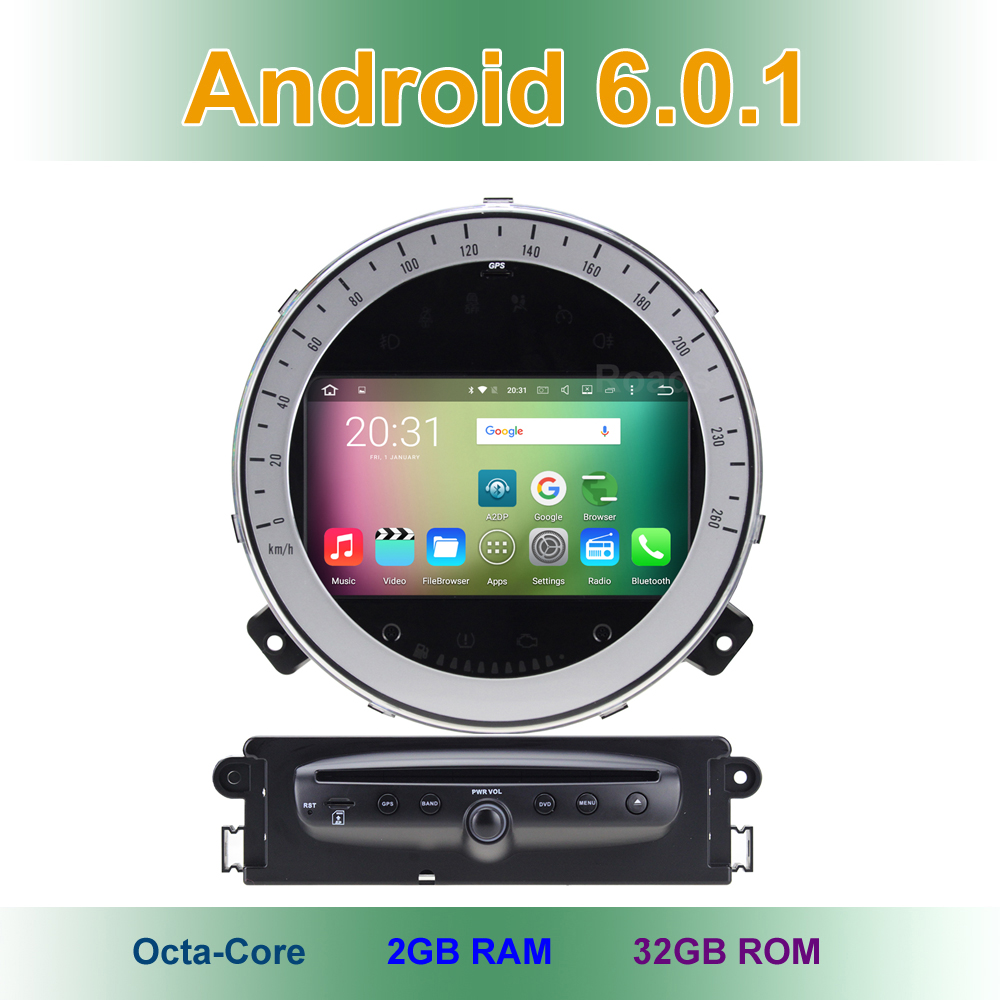 Octa Core Android 6.0 Car DVD GPS Radio for BMW Mini Cooper 2011 2012 2013