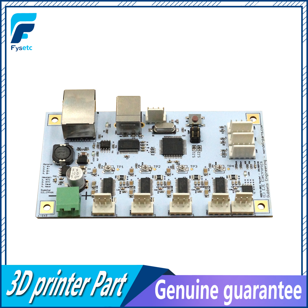 Generation 6 Controller Board 3D Printer Motherboard Main Control Panel The Sixth Generation Gen6 Motherboard for 3D Printer free shipping factory directly selling extruder controller 2 2 control module board motherboard for 3d printer