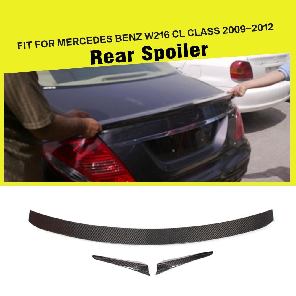Carbon Fiber Rear Trunk Spoiler Lip Car Styling For