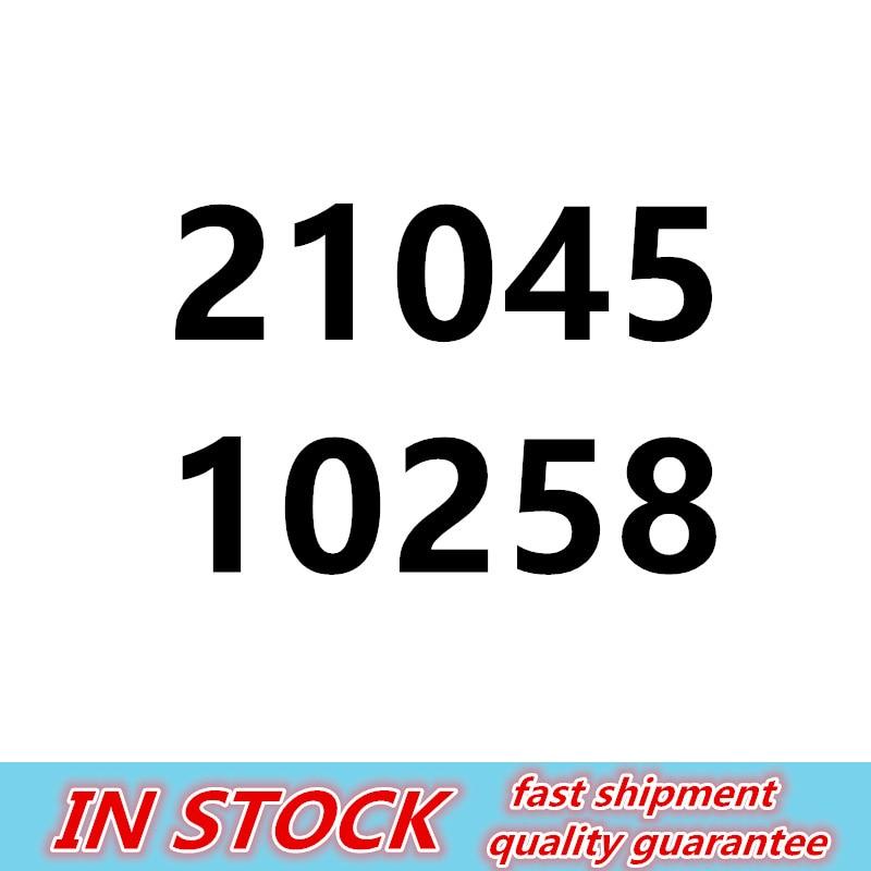 21045 1716Pcs Genuine Technic Series The London Bus Set Building Blocks Bricks Children Educational 10258
