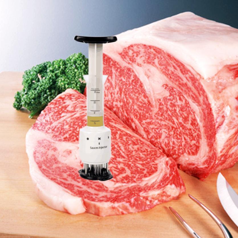 Nuovo Carne Batticarne Ago In Acciaio Inox Utensili Da Cucina WH trasporto di Goccia